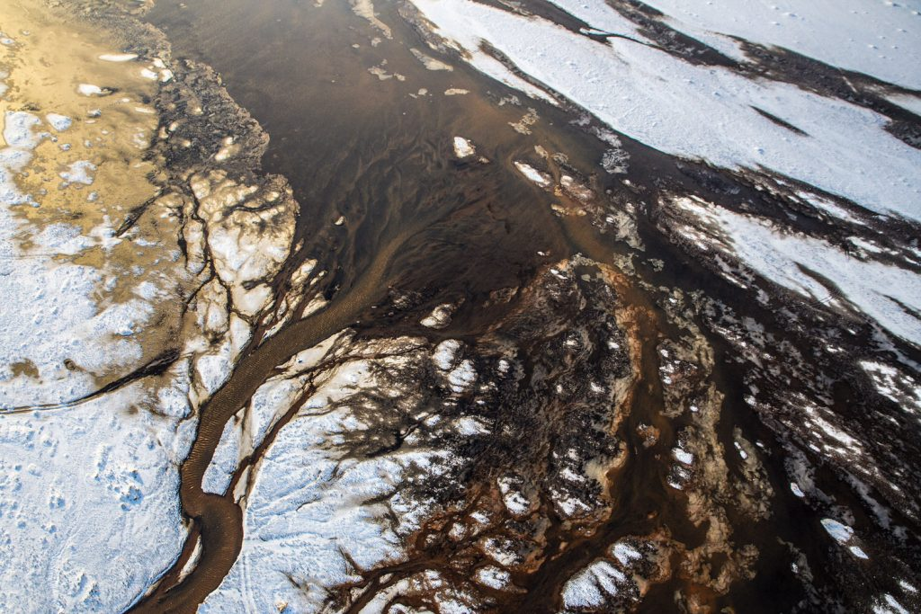 Aerial Abstract Iceland