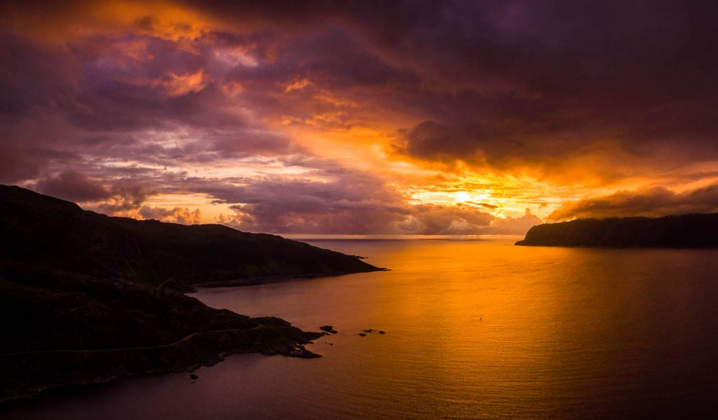 norway_drone_sunset