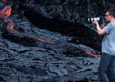 Shooting Lava