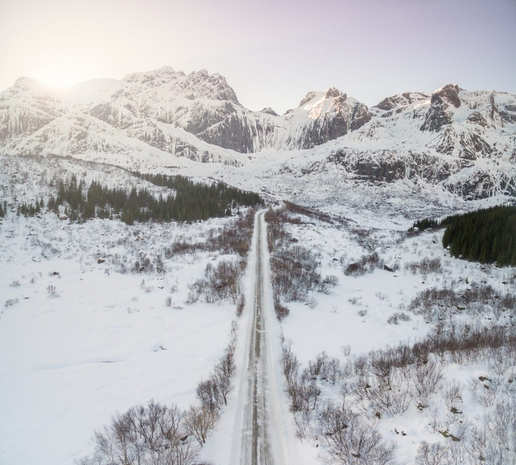 aerial_road_nusfjord
