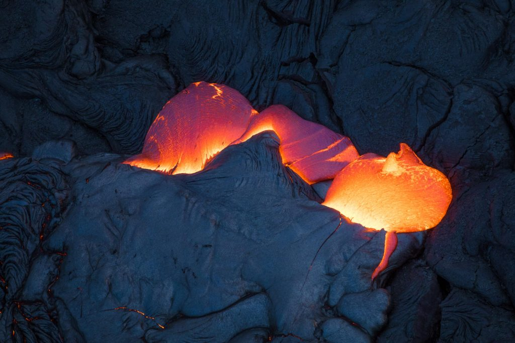 kilauea lava