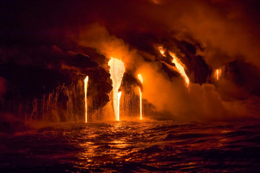 ocean entry lava
