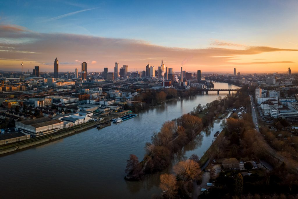 Frankfurt Main Sunrise